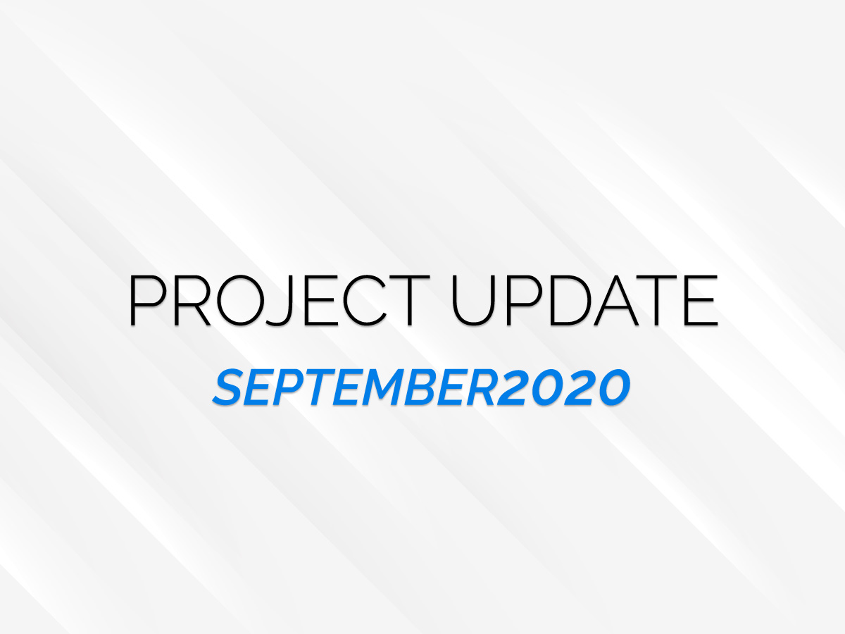 Project update sept cover